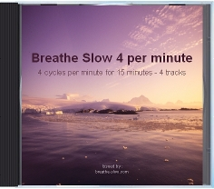 slow breathing exercises for hypertension - 4 breaths per minute