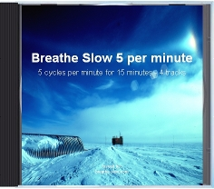 slow breathing exercises for hypertension - 5 breaths per minute