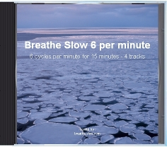 slow breathing 6 breathes per minute cd cover
