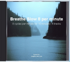 slow breathing exercises for hypertension - 8 breaths per minute