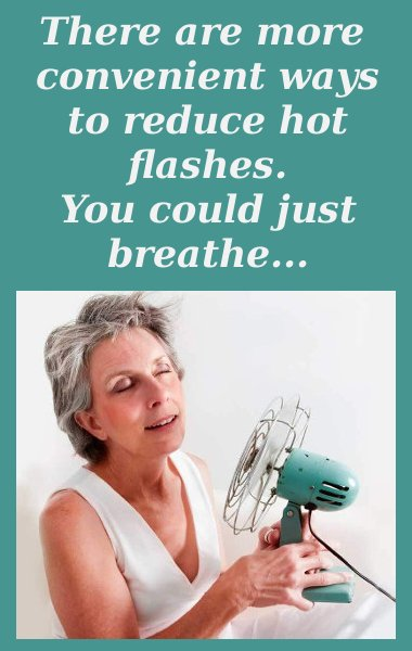 slow breathing for hot flashes